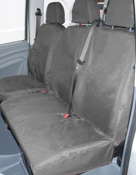 Isuzu D-MAX Laser measured van seat covers