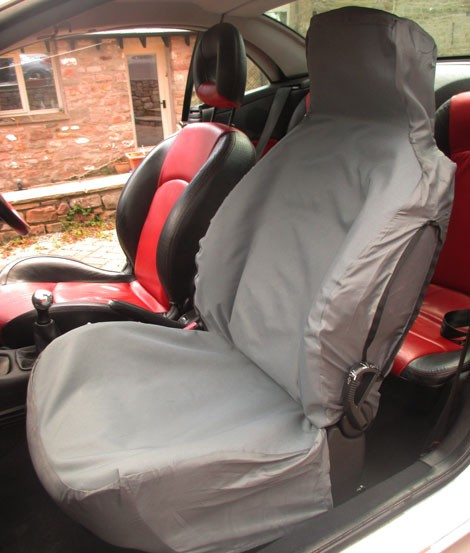 Semi custom seat covers to fit the Abarth 500