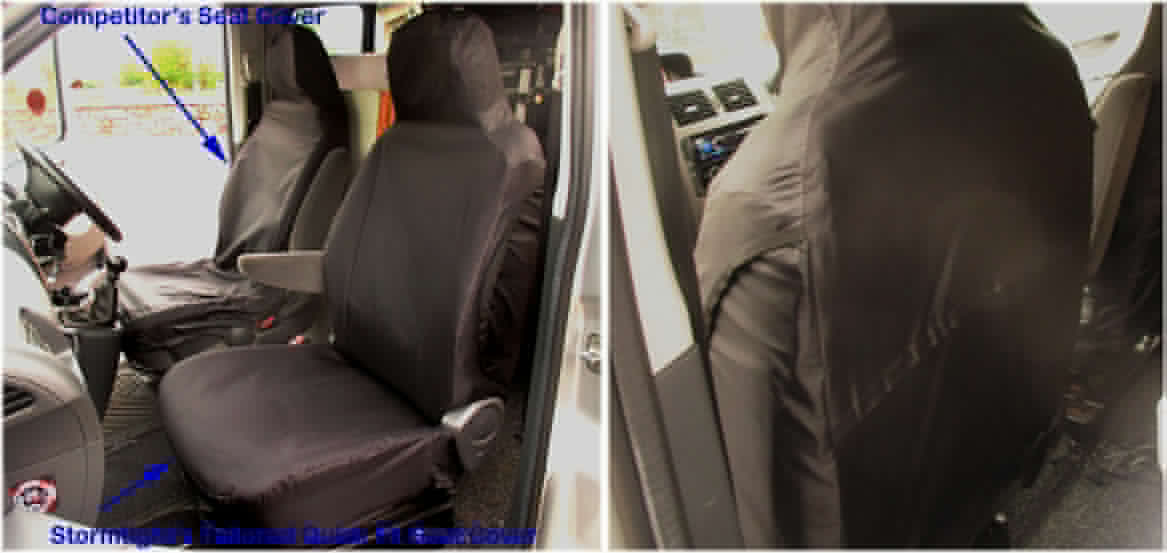 Tailored Quick Fit Seat Covers