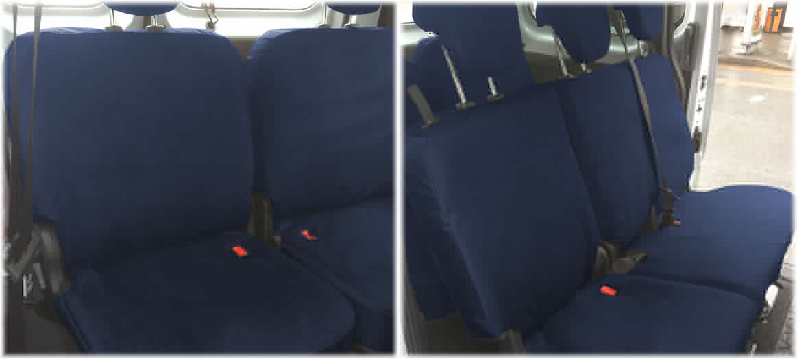 Fully Tailored MPV Seat Covers