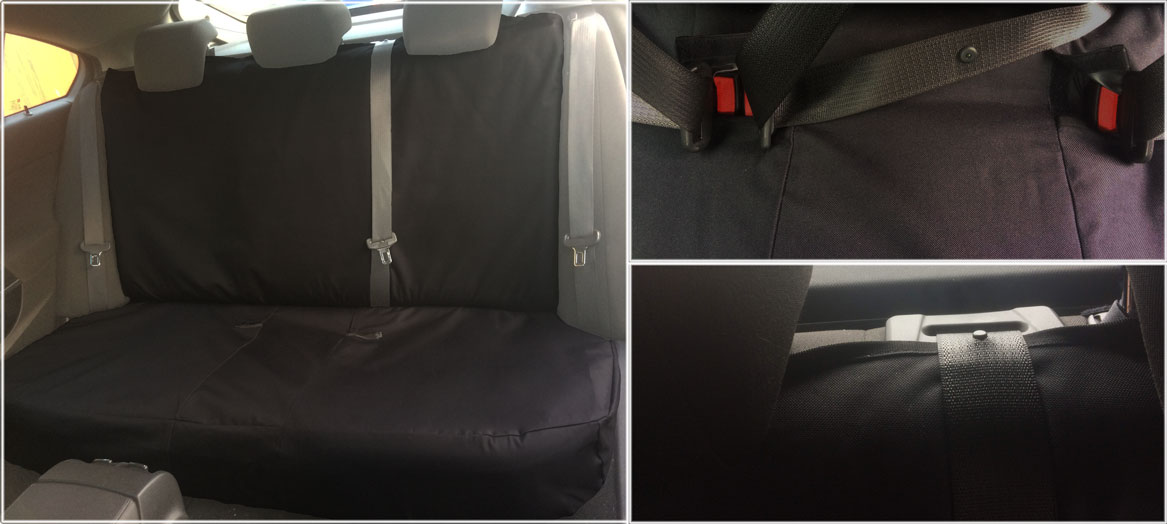 Custom Fit Rear Seat Covers